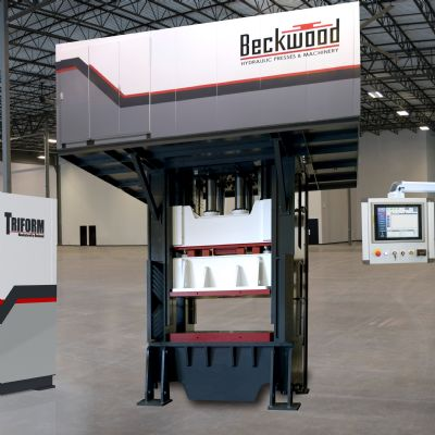 Hydraulic and Servo-Electric Presses for Forming and As...