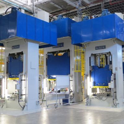 Hydraulic Presses, Automation and Die-Handling Equipment