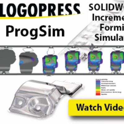 Incremental Forming Simulation of Prog Dies Inside of SolidW...