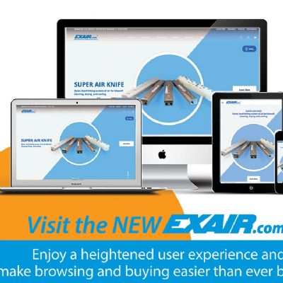 New-Look Exair Website Features Improved Search Function