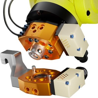 Robotic Tool Changer a Perfect Fit for Cobots