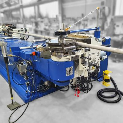 Schwarze-Robitec Delivers Second Tube- and Pipe-Bending Mach...