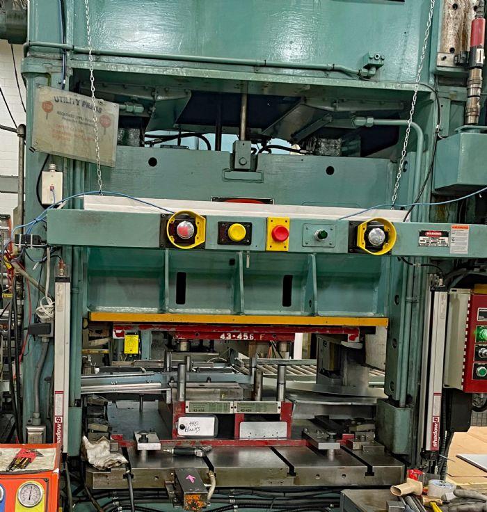 Photo B 100 ton press at Morrison Products