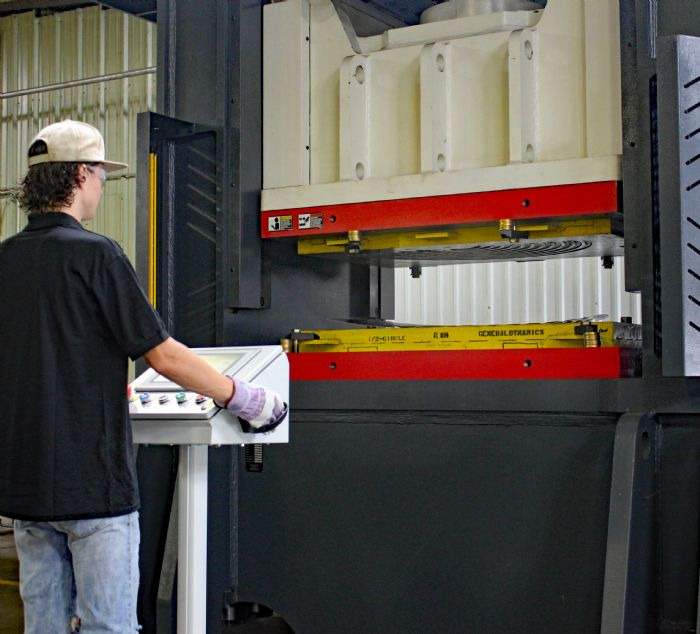 PhotoA beckwood hydraulic press diverse metal products