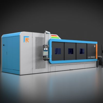 New Laser and Smart Bending Cell Star at Prima Power Booth