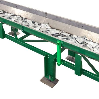 Shaker-Style Conveyors Move Stamped Parts and Scrap Safely a...