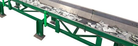 Shaker-Style Conveyors Move Stamped Parts and Scrap Safely and Efficie...