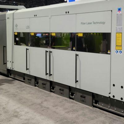12-kW Capability on Flat-Sheet Laser Cutting Machines