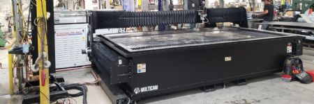 High-Power Waterjet Cutting to the Rescue