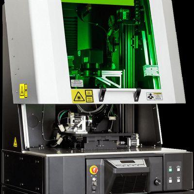 Pulsed Fiber Laser-Processing Workstation for Metals and Pla...