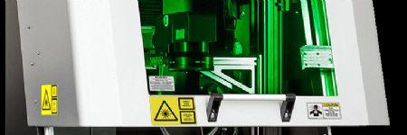 Pulsed Fiber Laser-Processing Workstation for Metals and Plastics Mark...