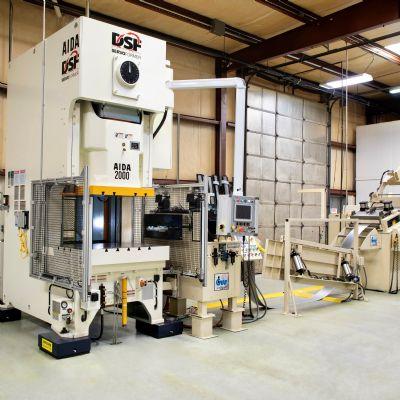 Servo Press Serves Up Sizable Productivity Gains