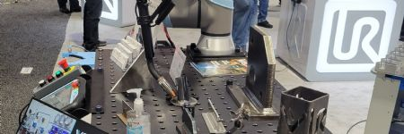 Water-Cooled Cobot Welding Tool for Heavy-Duty Use
