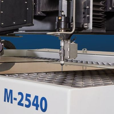 Waterjet Cutting Machines Feature Large Cutting Envelopes