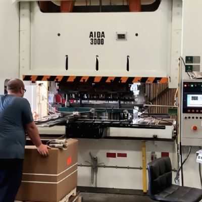 New 300-Ton Aida Servo Press Increases Productivity at Graha...