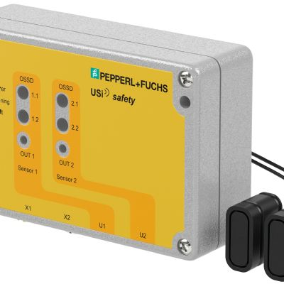 Pepperl+Fuchs Debuts Ultrasonic Sensor for Safety Applicatio...